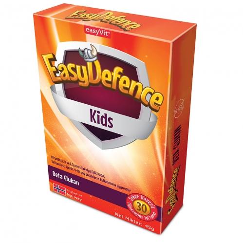 EasyVit - EasyDefence Kids 30 Çiğnenebilir Jel Form