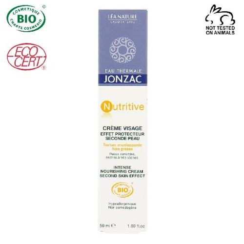 Eau Thermale Jonzac - Eau thermale jonzac Nutritive Organik Sertifikalı İkinci Cilt Etkili Yüz Kremi 50 ml