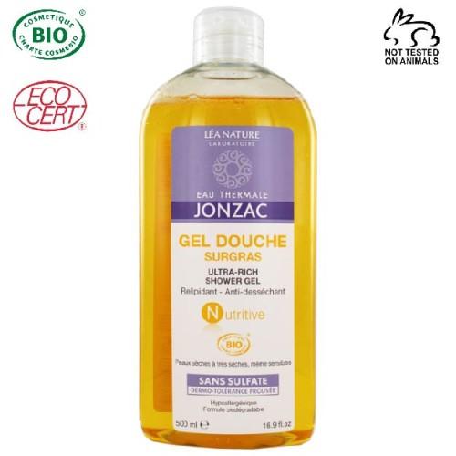 Eau Thermale Jonzac - Eau thermale jonzac Nutritive Organik Sertifikalı Hipoalerjenik Yoğun Nemlendirici Duş Jeli 500 ml