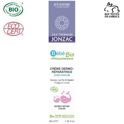 Eau Thermale Jonzac - Eau thermale jonzac Organik Sertifikalı Hipoalerjenik Bebeklere Özel Düzenleyici Dermo Krem 40 ml