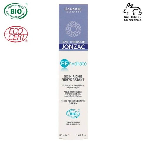 Eau Thermale Jonzac - Eau thermale jonzac Rehydrate Organik Sertifikalı Yoğun Nemlendirici Krem 50 ml