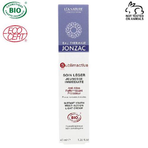 Eau Thermale Jonzac - Eau Thermale Jonzac Sublimactive Organik Sertifikalı Hipoalerjenik Anti Aging Hafif Krem 40 ml