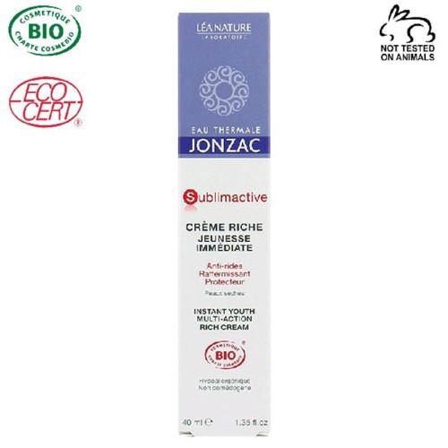 Eau Thermale Jonzac - Eau Thermale Jonzac Sublimactive Organik Sertifikalı Hipoalerjenik Anti Aging Yoğun Krem 40 ml
