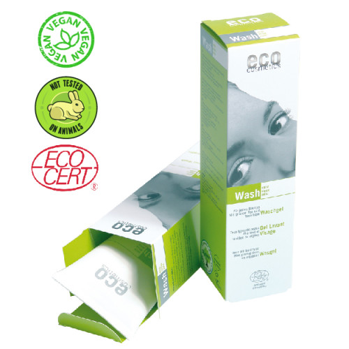Eco Cosmetics - Eco cosmetics Asma Yaprağı ve Yeşil Çay Özlü Organik Yüz Yıkama Jeli 125 ml