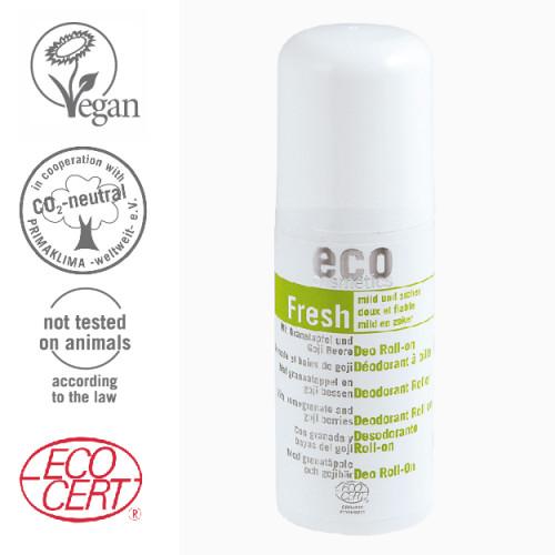 Eco Cosmetics - Eco cosmetics Organik Sertifikalı Roll-On Deodorant 50ml