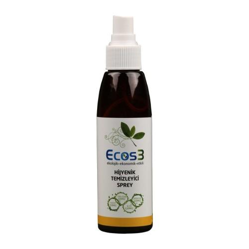 Ecos3 - Ecos3 Hijyenik Temizleyici Sprey 125 ml