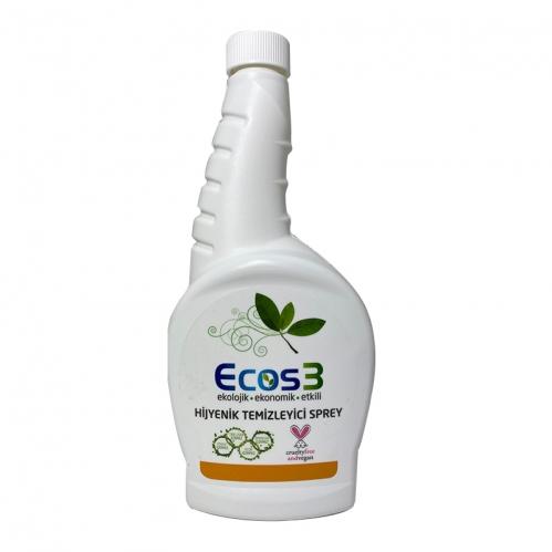 Ecos3 - Ecos3 Hijyenik Temizleyici Sprey 750 ml