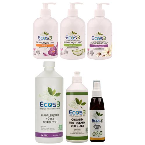 Ecos3 - Ecos3 Organik Temizlik Seti