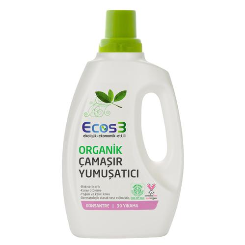 Ecos3 - Ecos3 Ultra Konsantre Bitkisel Çamaşır Yumuşatıcı 750 ml