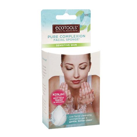 Ecotools - Ecotools Konjak Yüz Temizleme Süngeri 1231