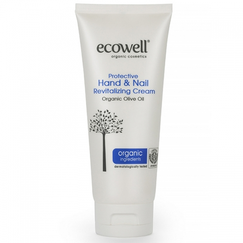 Ecowell Koruyucu El ve Tırnak Bakım Kremi 100ml( Kampanya Ürünü )
