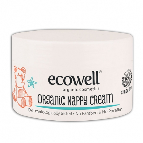 Ecowell - Ecowell Organik Pişik Kremi 100 ml