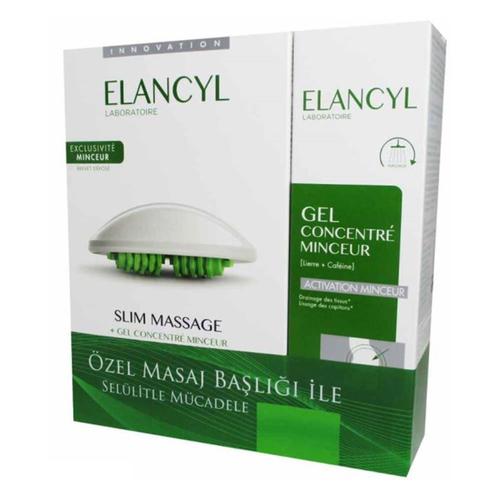 Elancyl - Elancyl Slimming Masaj Kiti ve Masaj Jeli 200 ml