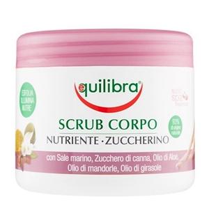 Equilibra Aloe Body Nourishing Sugary Scrub Jar 550gr
