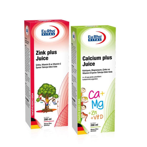 EuRho Vital - EuRho Vital Çocuklar için Takviye Edici Gıda Set 1
