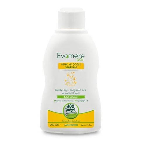 Evomere - Evomere Bebek ve Çocuk Şampuanı 200ml