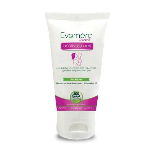 Evomere - Evomere Göğüs Ucu Kremi 30ml