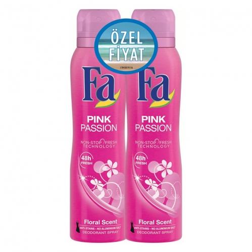 Fa - FA Deosprey Pink Passion Kadın 2'li 150 ml+150 ml
