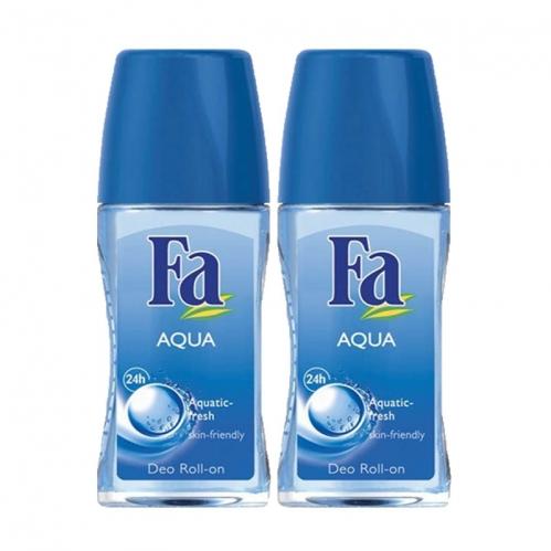 Fa - FA Roll-On 2'li Aqua 50 ml+50 ml