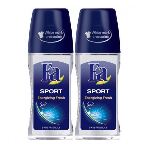Fa - FA Roll-On 2'li DP Sport Men 50 ml+50 ml
