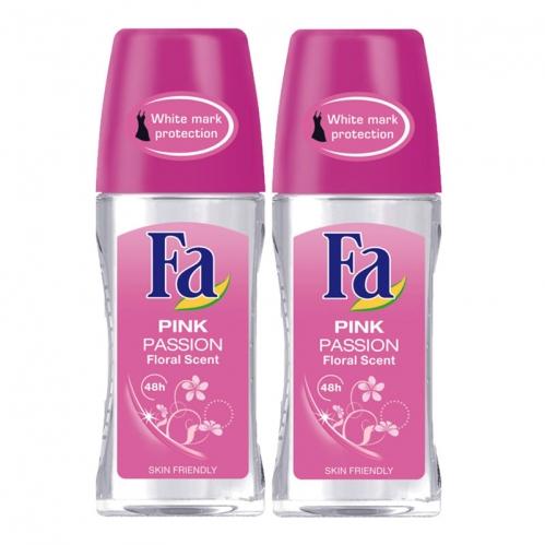 Fa - FA Roll-On 2'li Pink Passion Kadın 50 ml+50 ml
