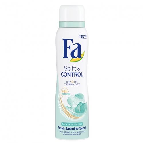 Fa - FA Soft Control Deodorant Kadın 150 ml
