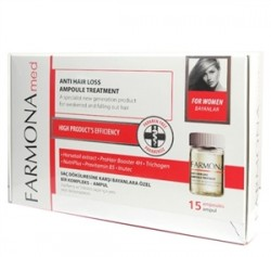 Farmona - Farmona Med Anti Hair Loss Ampoule Treatment For Women 15x5ml Ampül