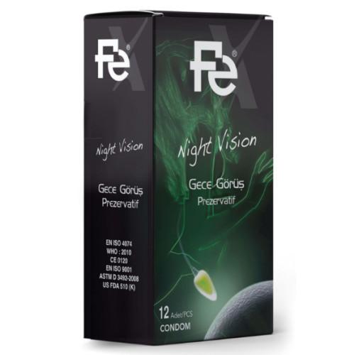 FE - Fe Night Vision Prezervatif 12li Kutu