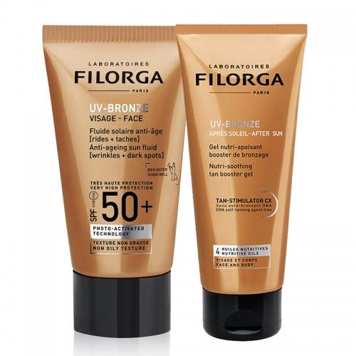 Filorga UV-Bronze Visage Anti-Ageing BRONZE KIT