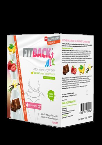 Fitback - Fitback Mix Enerjisi Kısıtlanmış Gıda 12 Adet