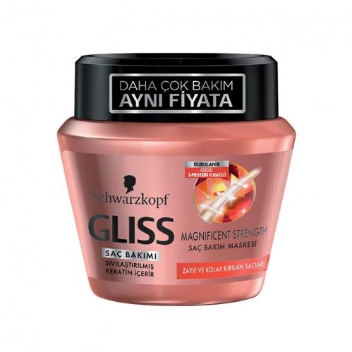 Gliss - Gliss Magnificent Strength Maske 300 ml