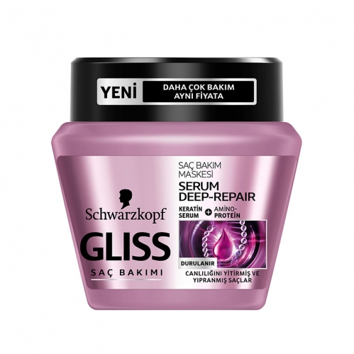 Gliss - Gliss Serum Deep Repair Maske 300 ml