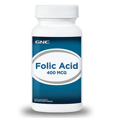 GNC - Gnc Folic Acid 400mcg 100Tablet