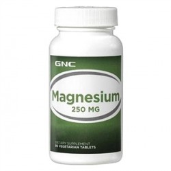 GNC - Gnc Magnesium 250mg