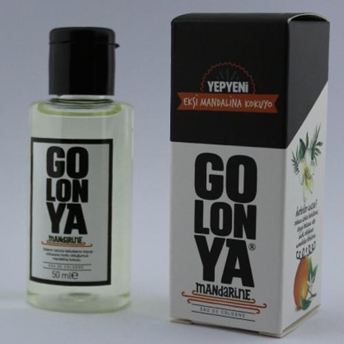 Golonya - Golonya Ekşi Mandalina Kokusu Kolonya 50 ml