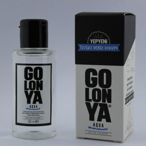 Golonya - Golonya Tuzsuz Deniz Kokusu Aqua Kolonya 50 ml