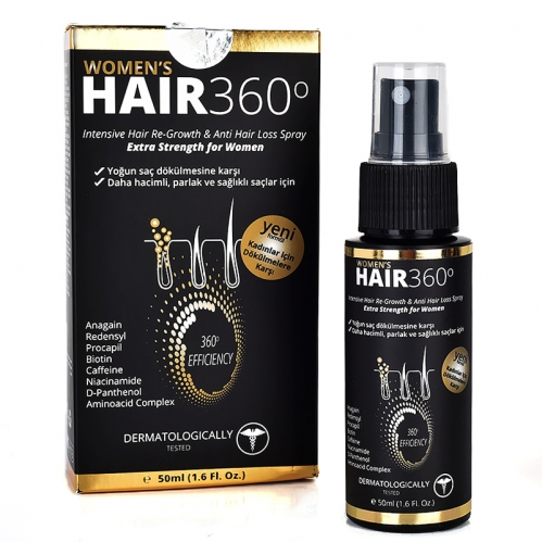 Hair 360 - Hair 360 Women Sprey 50ml
