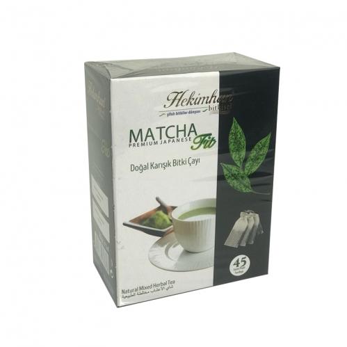 Hekimhan Bitkisel - Hekimhan Bitkisel Matcha Fit Doğal Karışık Bitki Çayı 45 Poşet