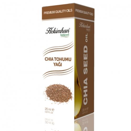 Hekimhan Bitkisel - Hekimhan Chia Tohumu Yağı 20 ml