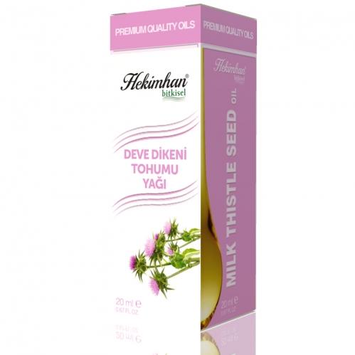 Hekimhan Bitkisel - Hekimhan Deve Dikeni Tohumu Yağı 20 ml