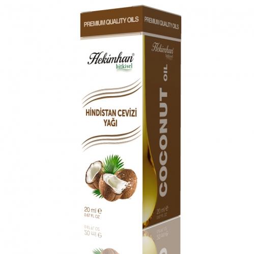 Hekimhan Bitkisel - Hekimhan Hindistan Cevizi Yağı 20 ml