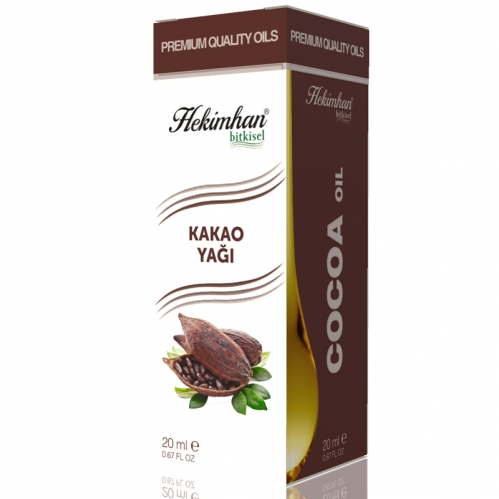 Hekimhan Bitkisel - Hekimhan Kakao Yağı 20 ml