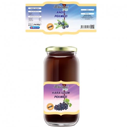 Hekimhan Bitkisel - Hekimhan Üzüm Pekmezi 640 gr