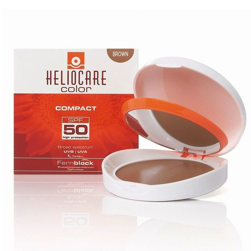 Heliocare - Heliocare Color Mineral SPF 50 Compact 10 gr - Brown