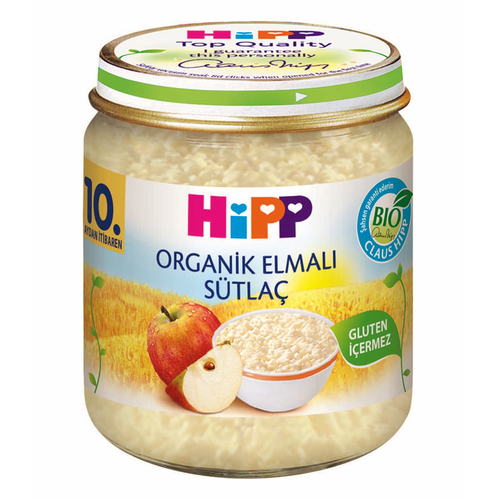 Hipp - Hipp Organik Elmalı Sütlaç 200 gr