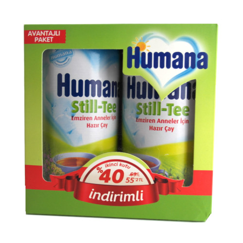 Humana - Humana Still Tee Emziren Anneler İçin Hazır Çay 2x200gr