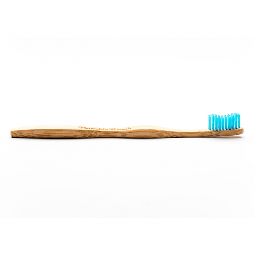Humble Brush - Humble Brush Doğal Yumuşak Yetişkin Diş Fırçası - Mavi
