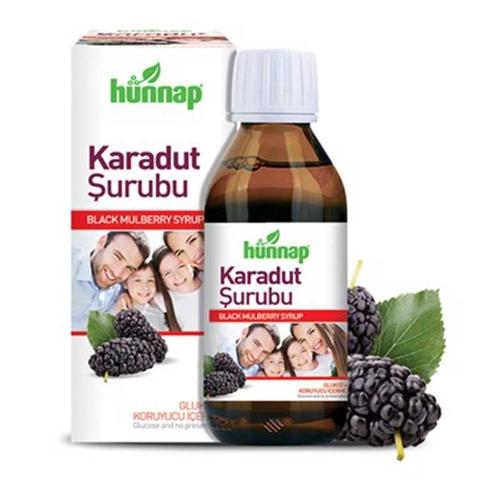 Hünnap - Hünnap Karadut Şurubu 50 ml