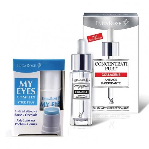 Incarose - Incarose Collagen 15ml + My Eyes Complex Stick Plus 5ml Kofre