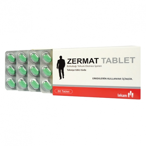 Interpharm - Interpharm Zermat Tablet Takviye Edici Gıda 60 Tablet